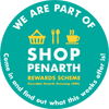 Proud to support the Shop in Penarth Rewards Scheme